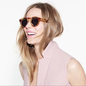 Illesteva Leonard mirror sunglasses